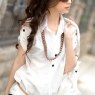 PRE-ORDER *Korean Style Turndown Collar Short Sleeve Blouse*